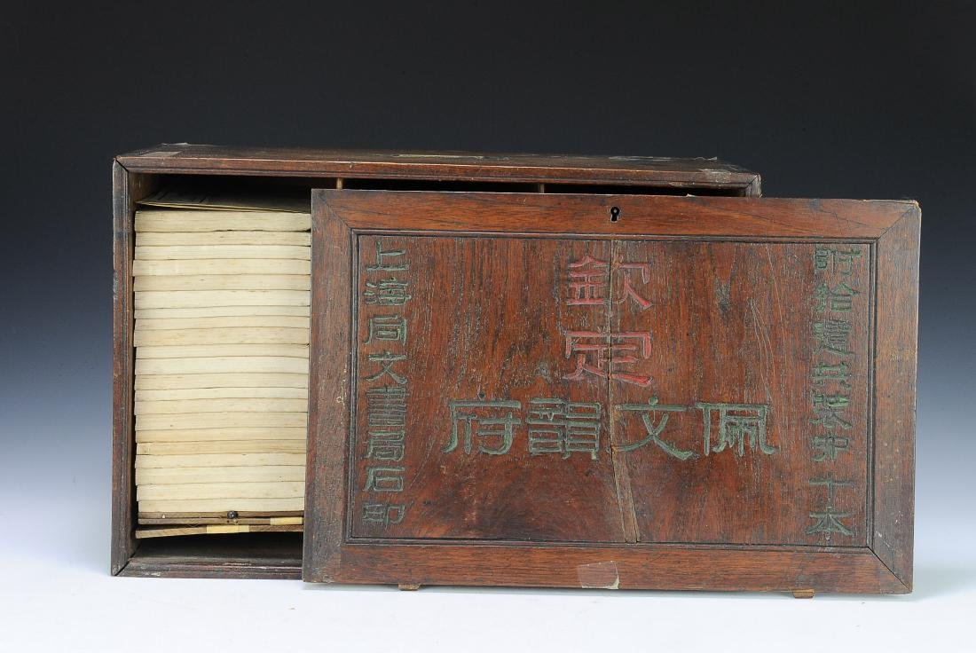 Set of Old Books in Box, Qing Dynasty