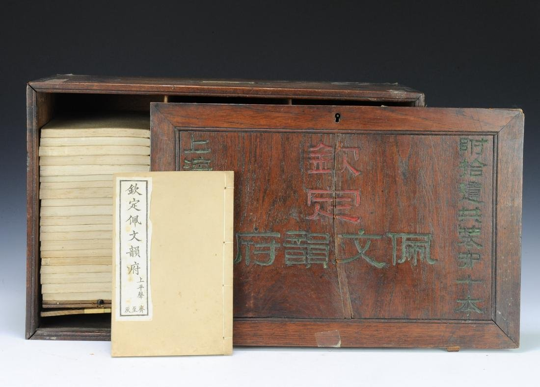 Set of Old Books in Box, Qing Dynasty - 2