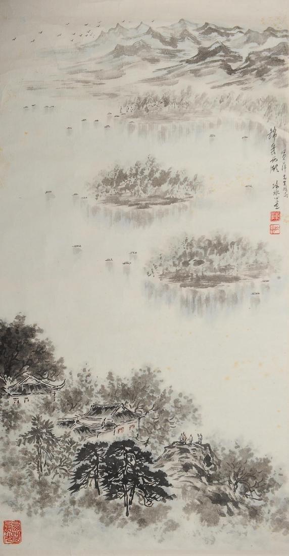 Two Paintings, Chen Shuijin - 3