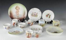 Group of German Children's Dishes