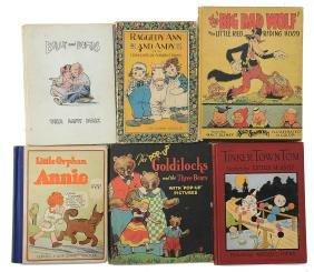 Six Good Children's Books, Pop-up Goldilocks, Etc.