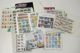 Large Group Unused US Postage Stamps