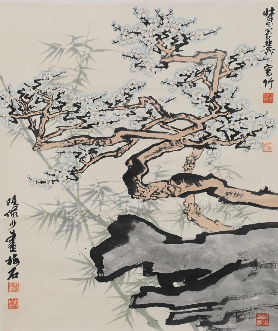 Painting of Tree by Lu Yanshao & Xie Zhiliu