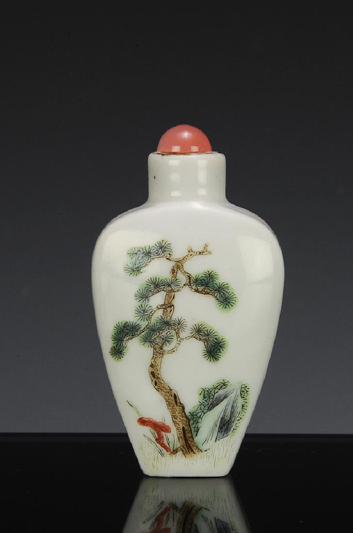 Chinese Porcelain Snuff Bottle, Daoguang