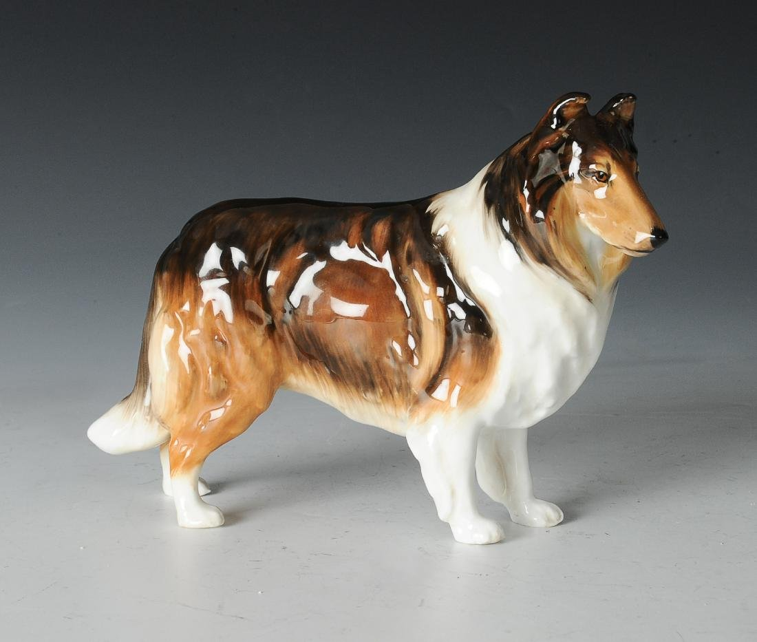 Royal Doulton Collie Figurine
