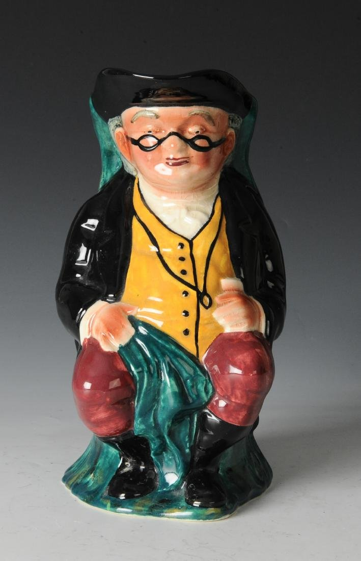 Staffordshire Figural Pitcher