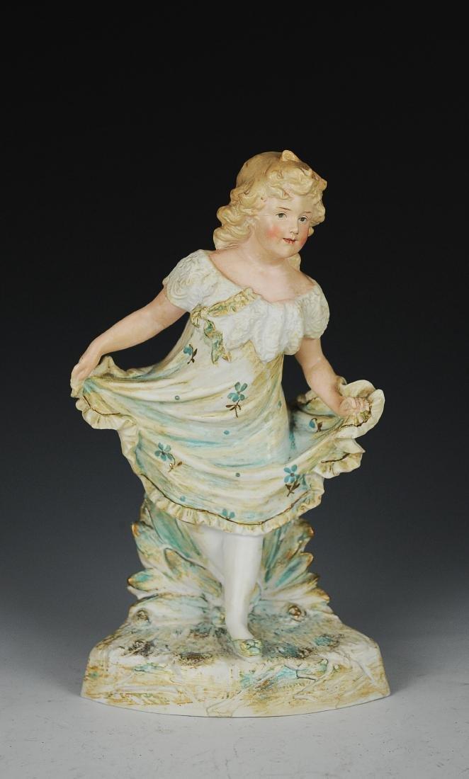 Huebach Figurine of a Girl