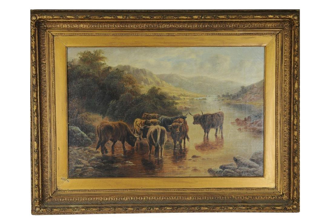 Louis B. Hurt Oil of Highland Cattle