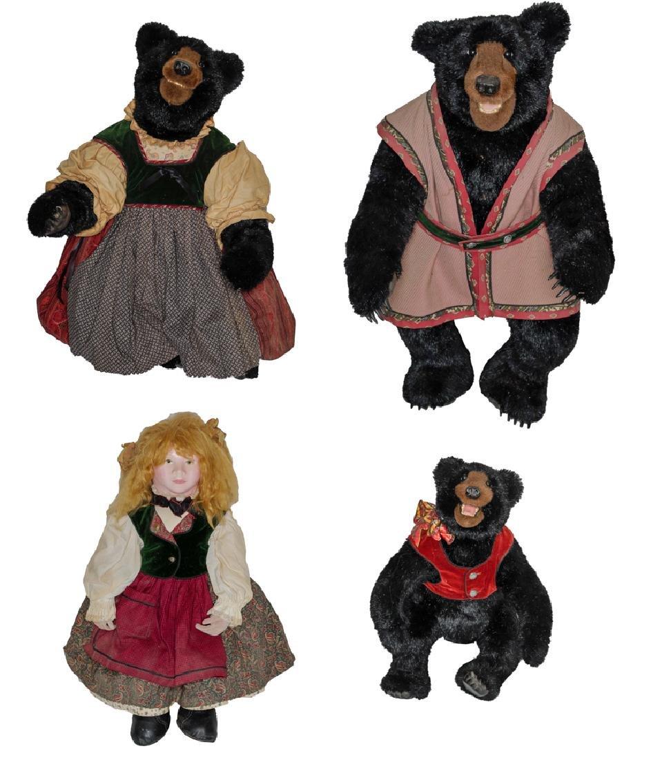 Large Goldilocks & The Three Bears, Beaver Valley