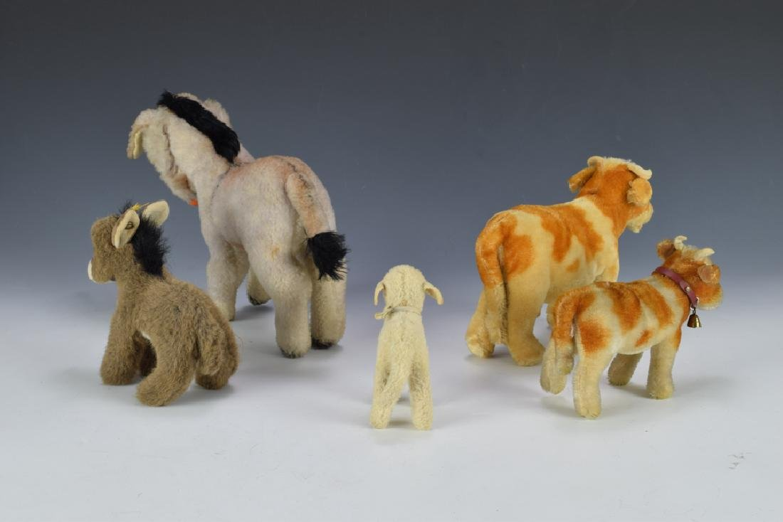 Group of 5 Steiff Farm Animals - 2
