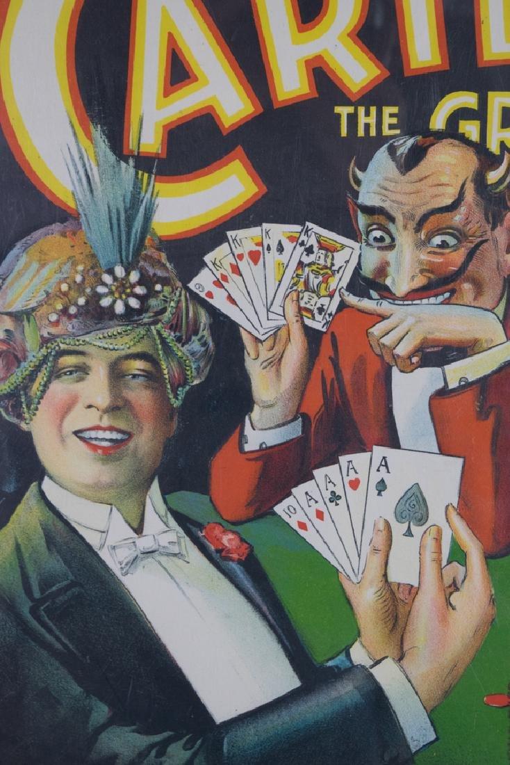 Carter the Great Magician Window Card - 2