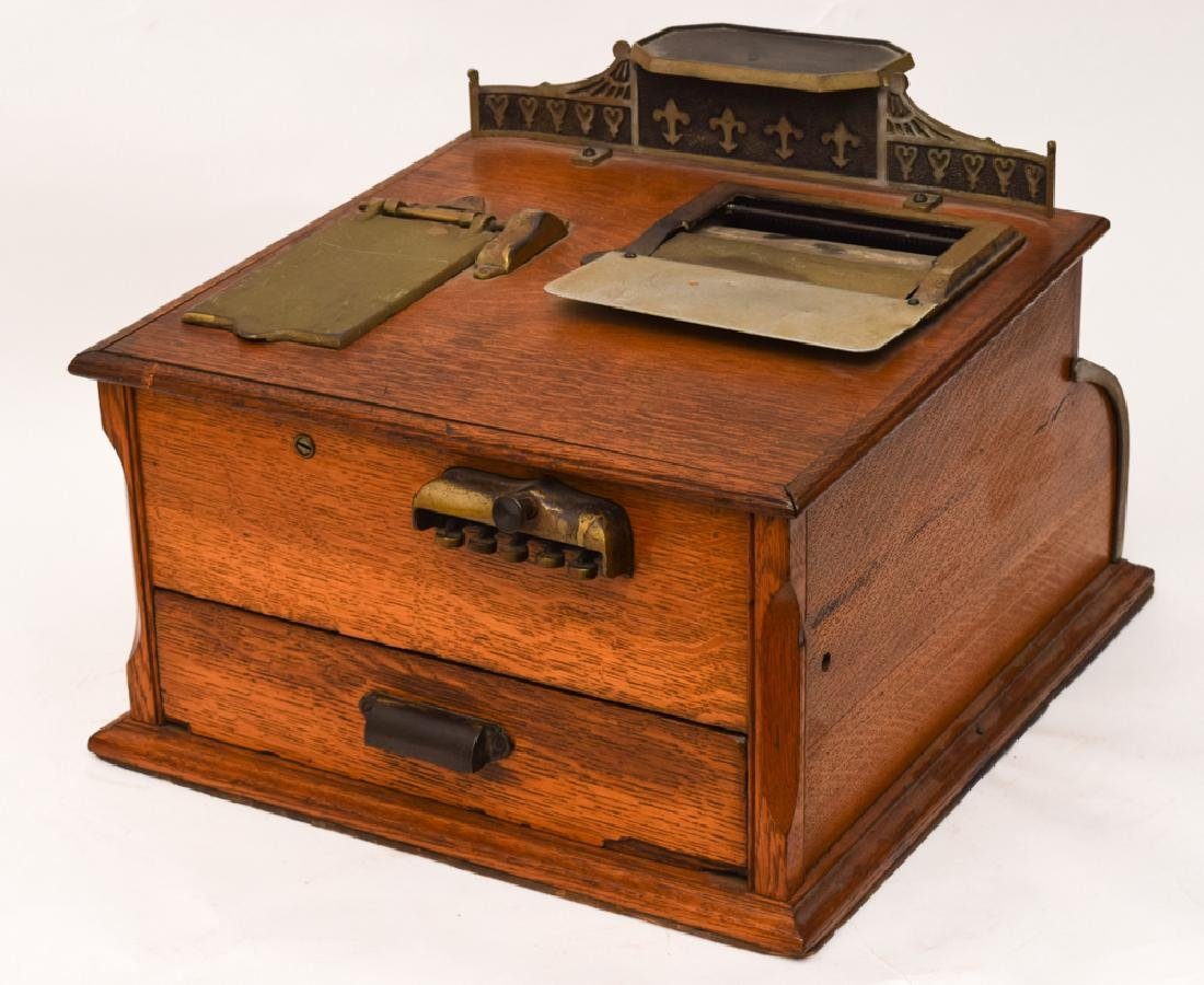 Hough's Security Cash Recorder, Late 19th Century