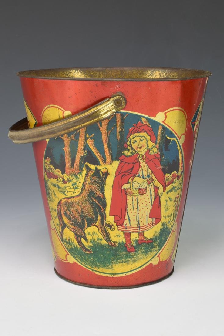 Little Red Riding Hood Sand Pail by T. Cohn
