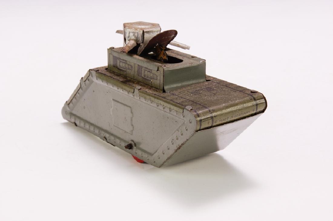 Scarce German Penny Toy Tank