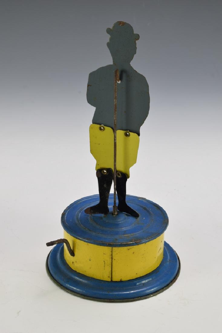 Tin Black Jigger Toy, Made in Germany, Circa 1920 - 2