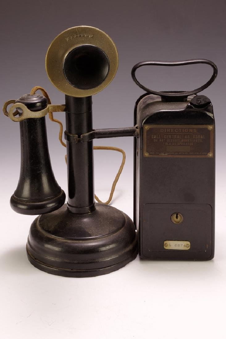 Candlestick Phone w/ Coin-box