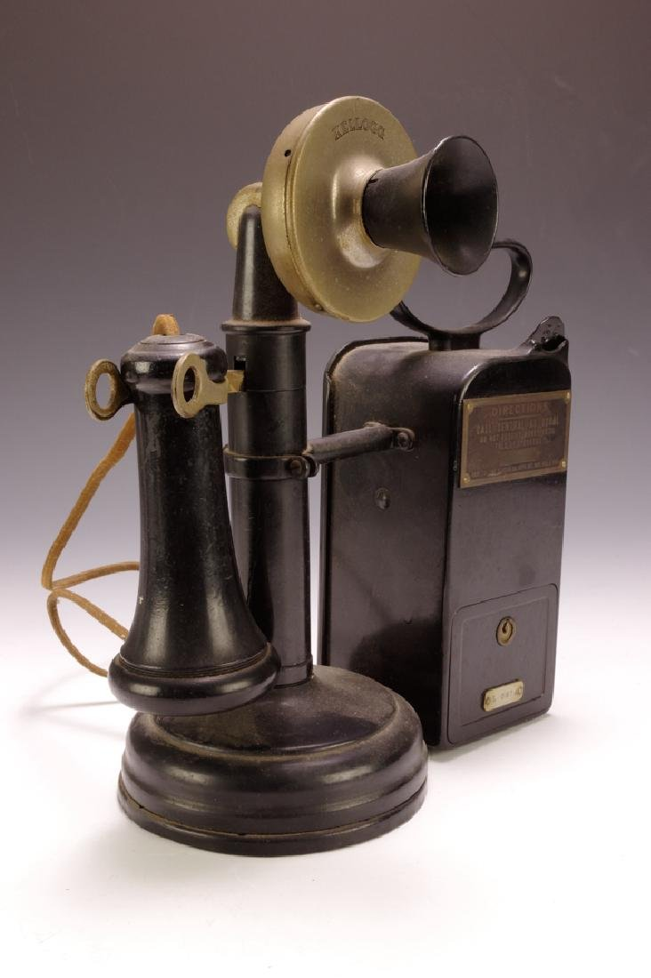 Candlestick Phone w/ Coin-box - 3