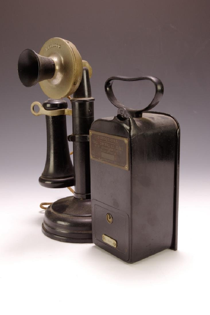 Candlestick Phone w/ Coin-box - 4