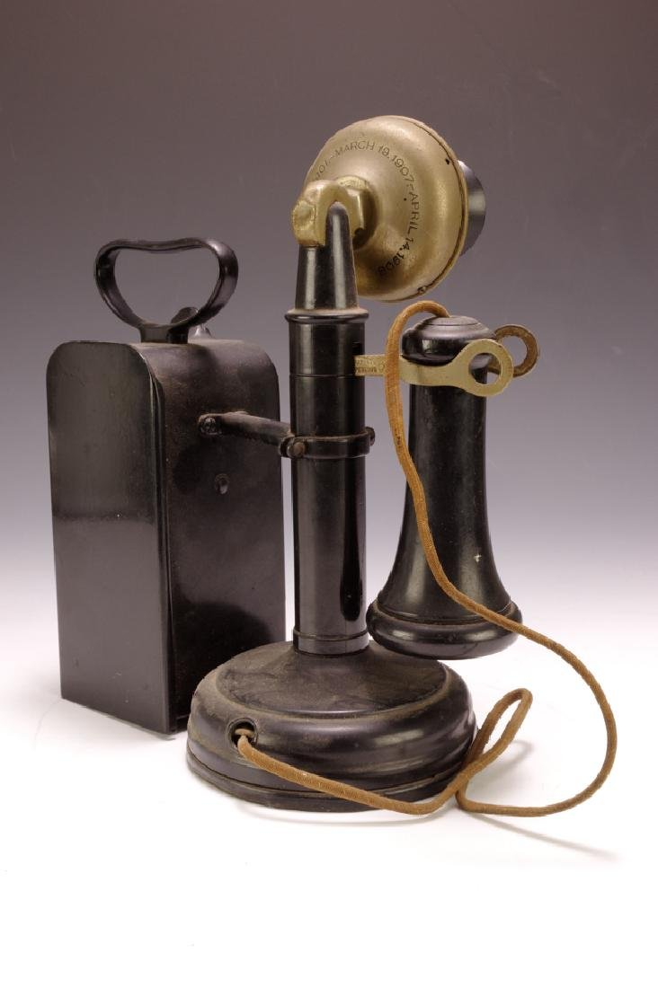 Candlestick Phone w/ Coin-box - 6