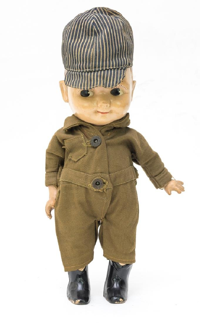 Plastic Buddy Lee Doll w/ Jumpsuit