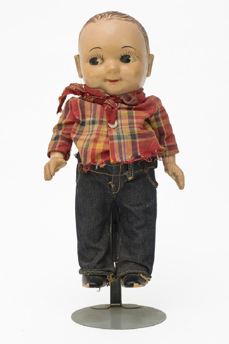 Plastic Buddy Lee Doll w/ Original Clothing