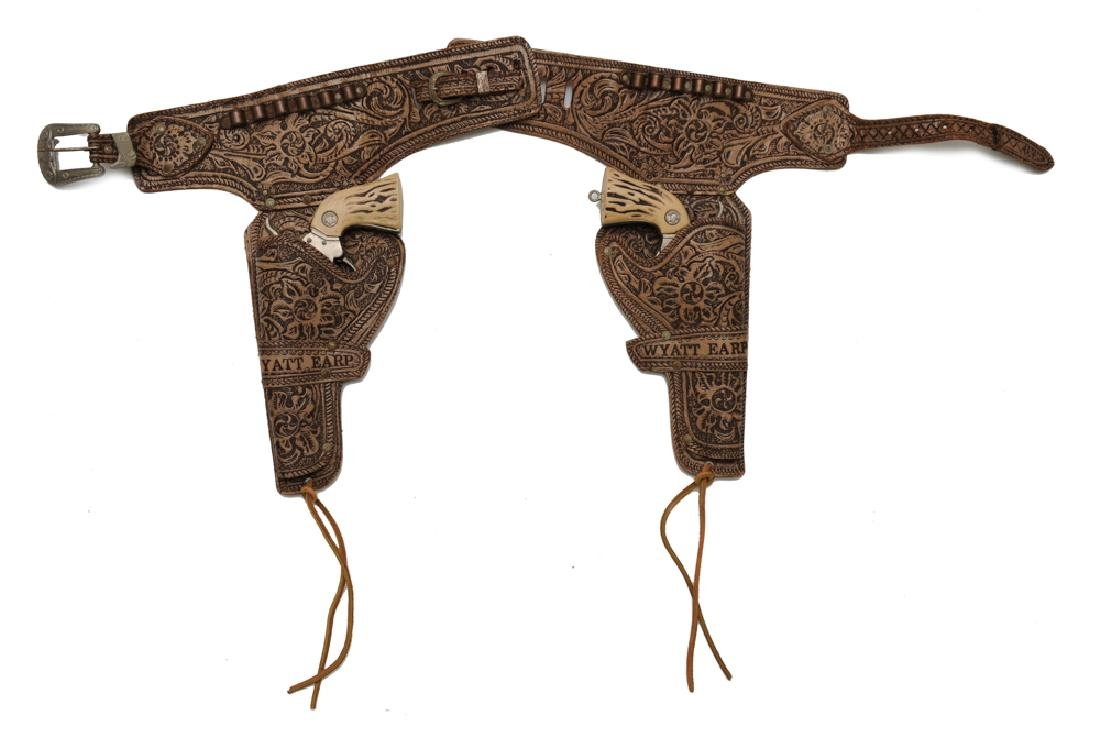 Wyatt Earp Holster & Cap Guns