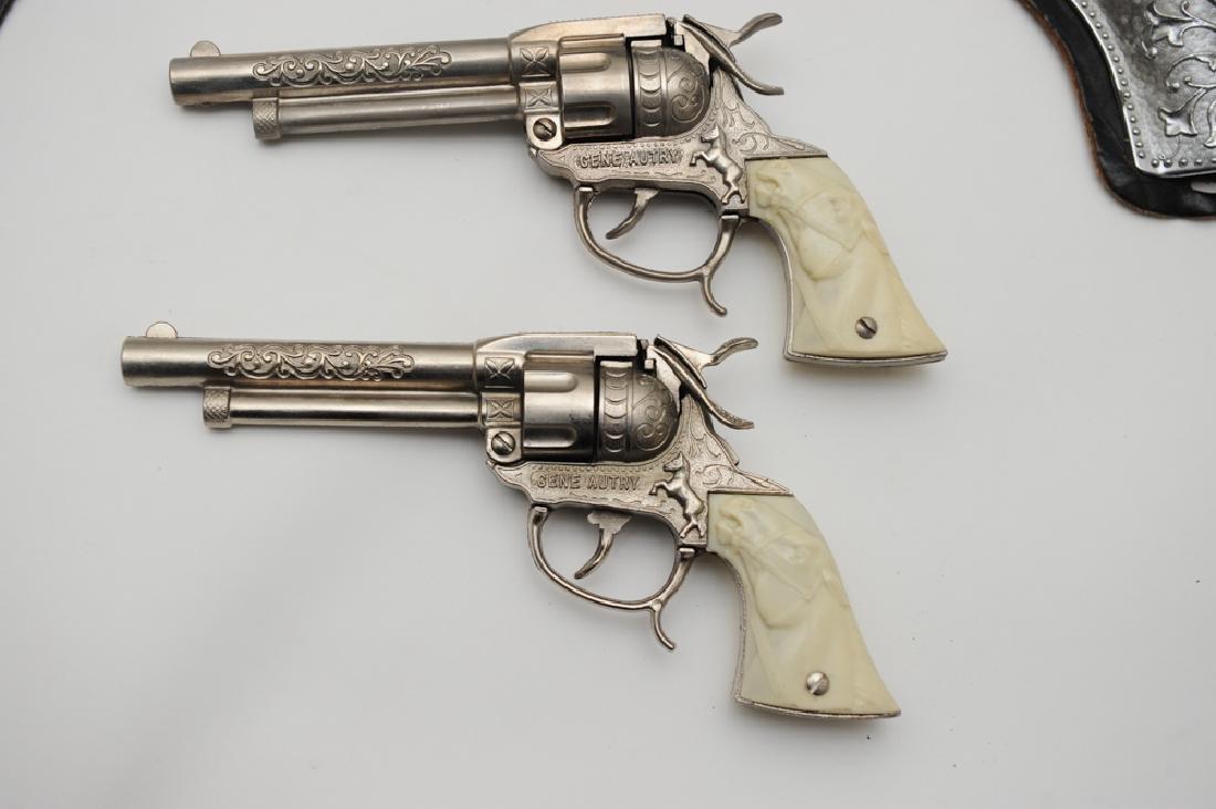 "Gene Autry ""Flying A Ranch"" Holster & Guns - 2"