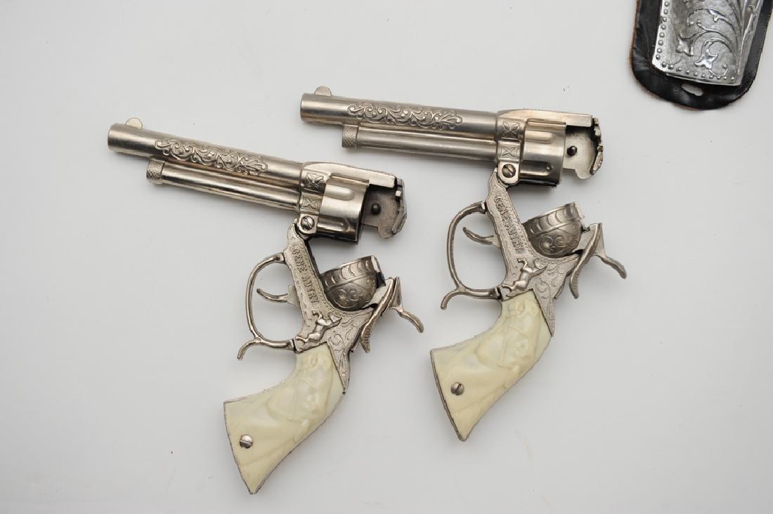 "Gene Autry ""Flying A Ranch"" Holster & Guns - 4"