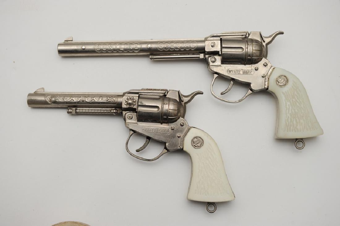 Wyatt Earp Belt, Holster, & Cap Guns - 3
