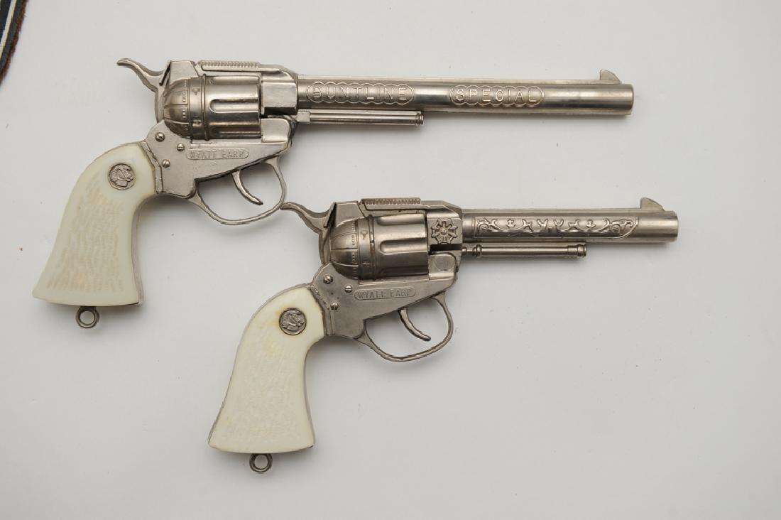Wyatt Earp Belt, Holster, & Cap Guns - 4