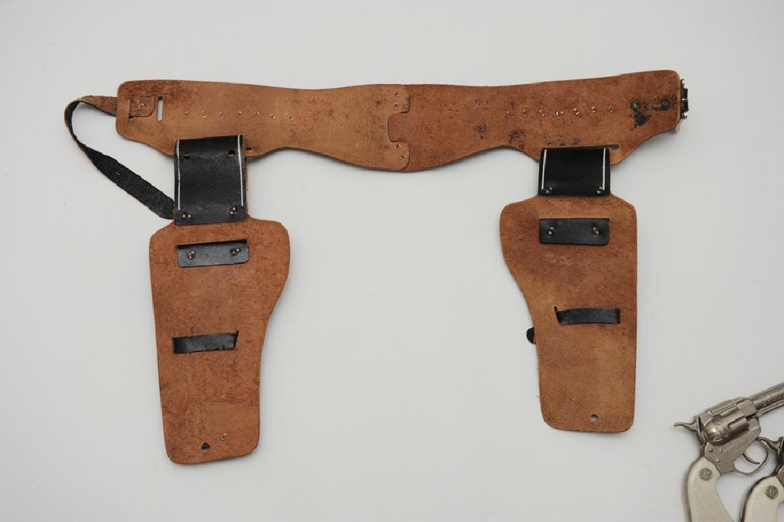 Wyatt Earp Belt, Holster, & Cap Guns - 5
