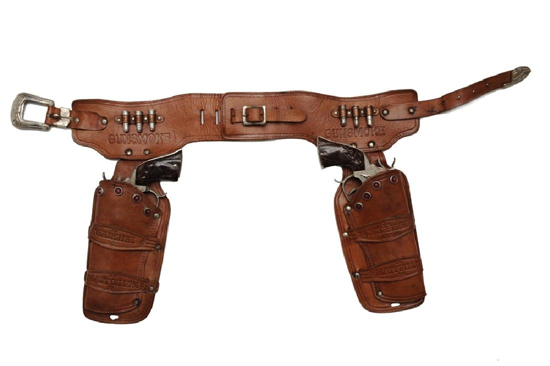 Gunsmoke Belt, Holster, & Cap Guns