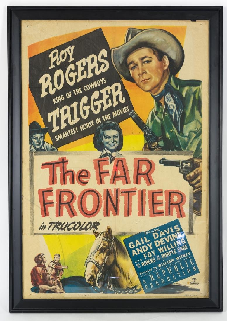 Roy Rogers, The Far Frontier Movie Poster