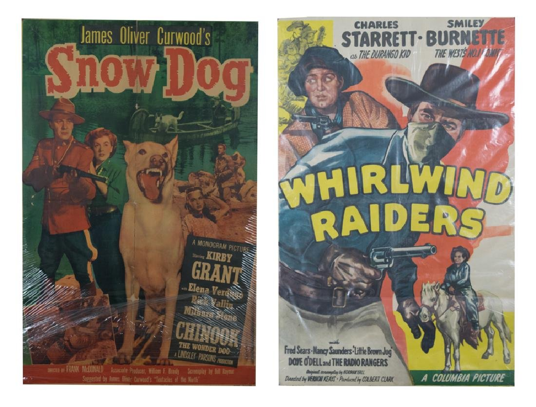 Set of 2 Western Movie Posters