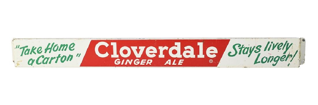 Cloverdale Ginger Ale Door Push