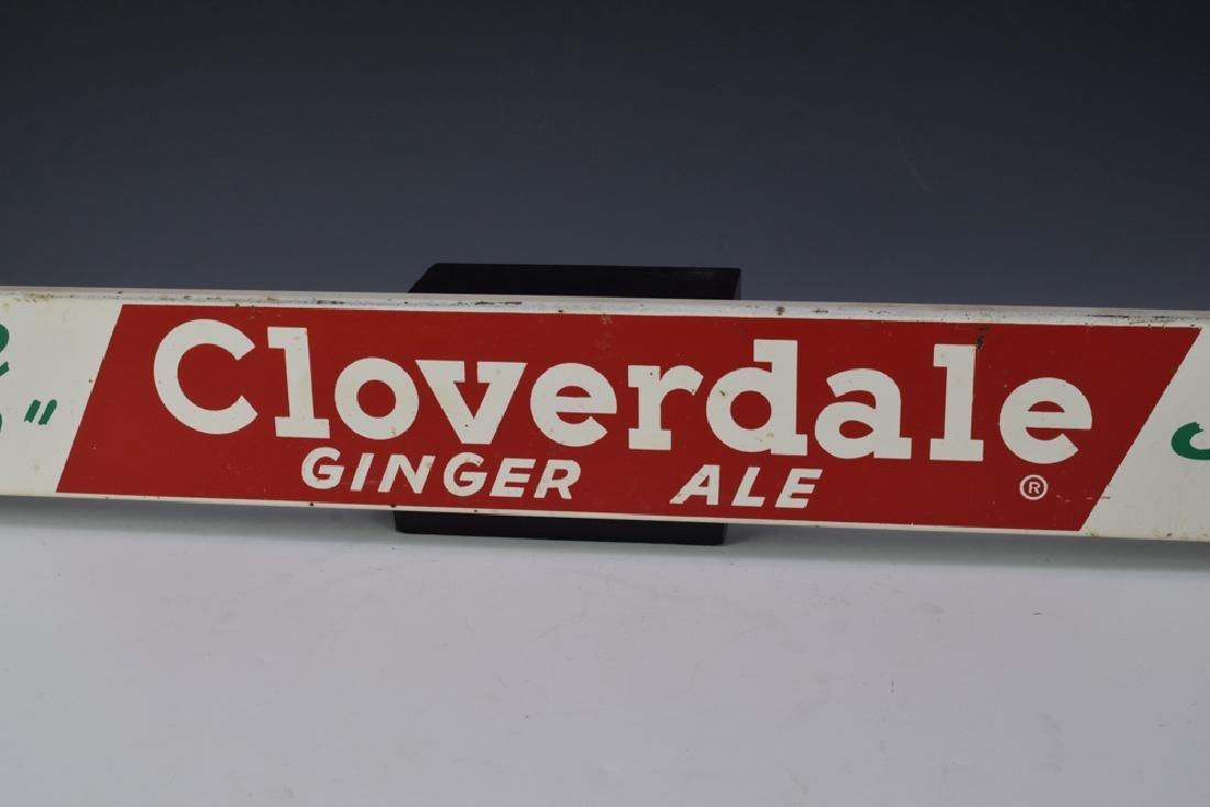 Cloverdale Ginger Ale Door Push - 4