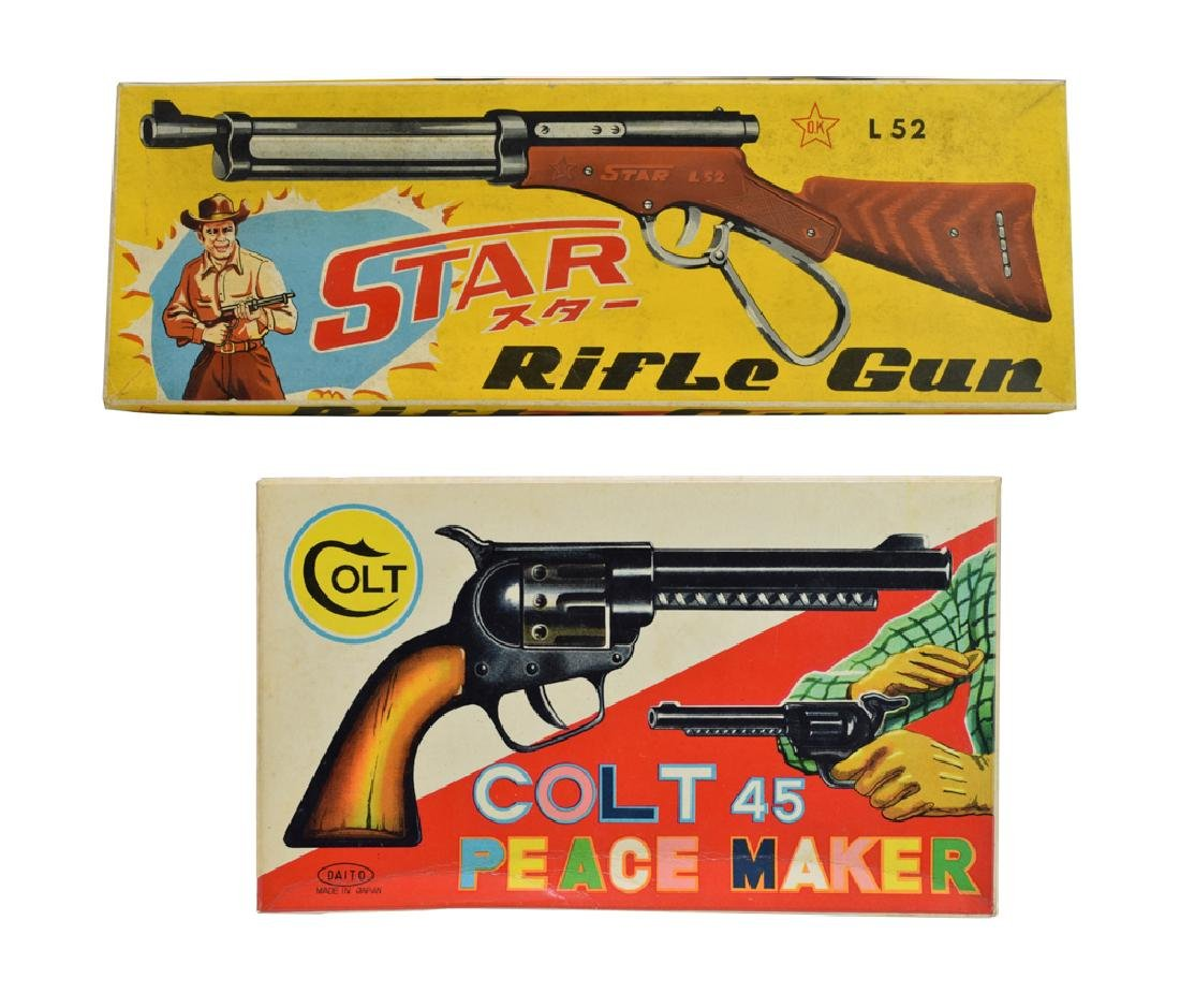 Set of Two New, Old Stock Toy Guns
