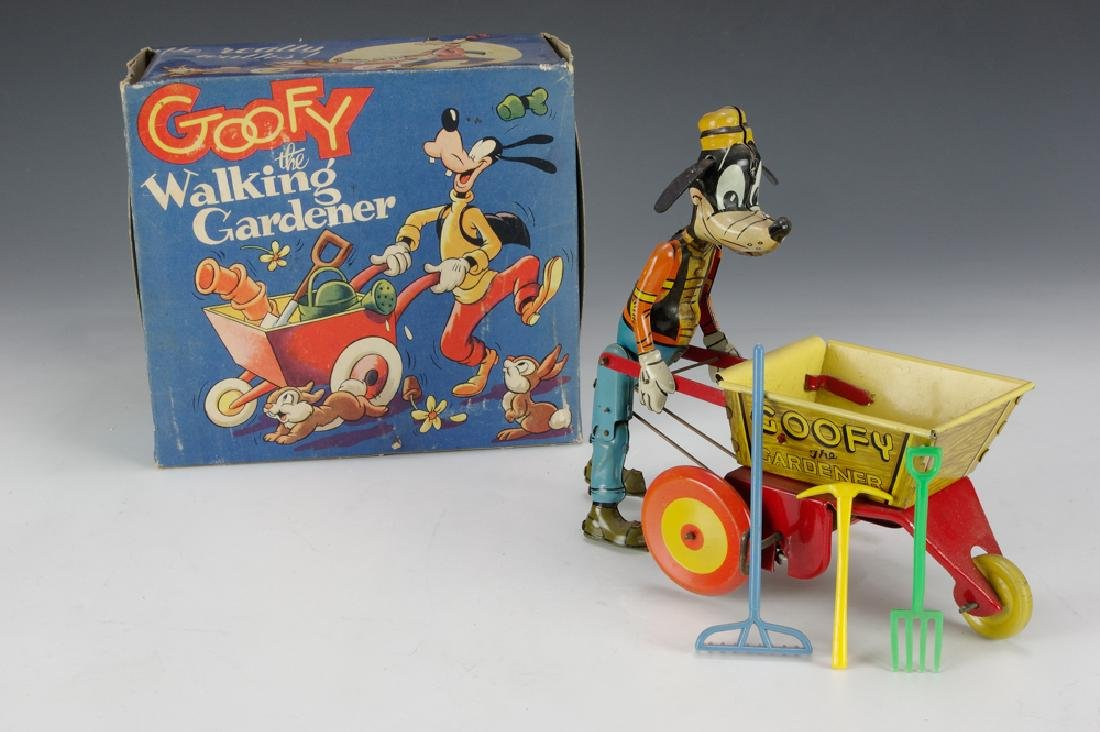 Goofy the Gardener w/ Original Box, Marx
