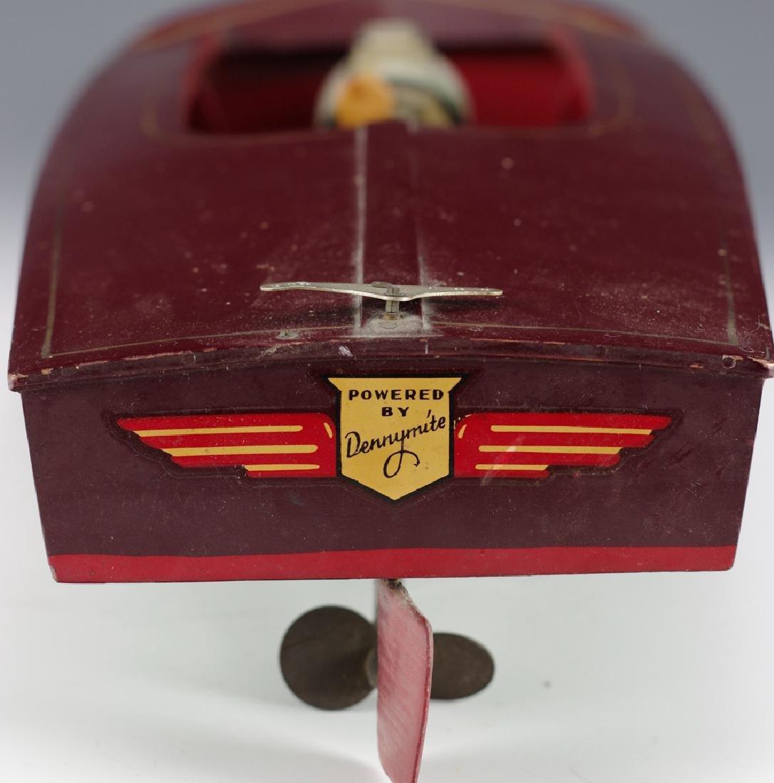 Wooden Speedboat w/ Electric Motor - 5