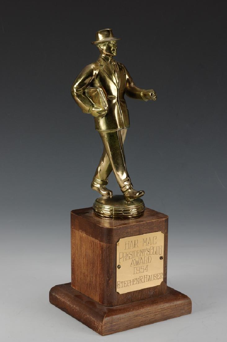 Har-Mac President's Club Salesman Trophy, 1954