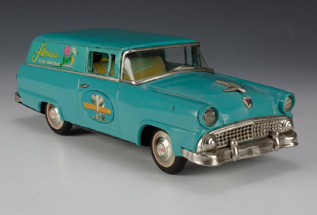 """Flowers"" Ford Sedan Delivery, Bandai Circa 1955"