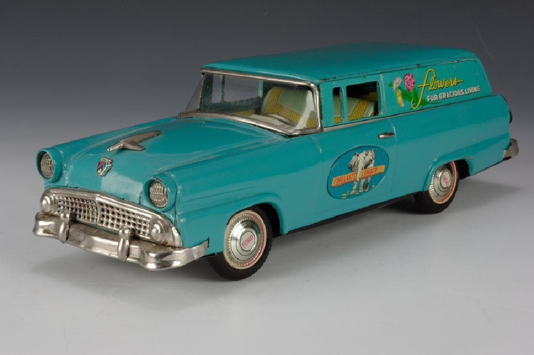 """Flowers"" Ford Sedan Delivery, Bandai Circa 1955 - 2"