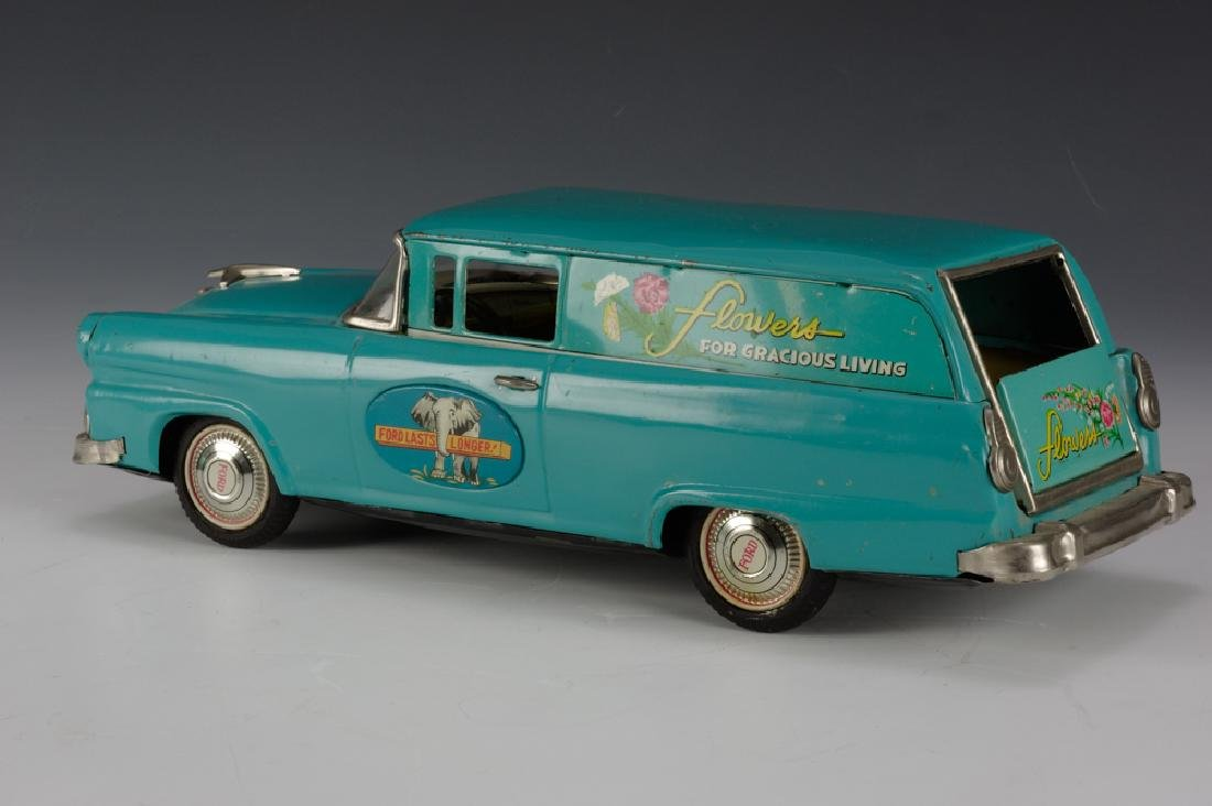"""Flowers"" Ford Sedan Delivery, Bandai Circa 1955 - 3"