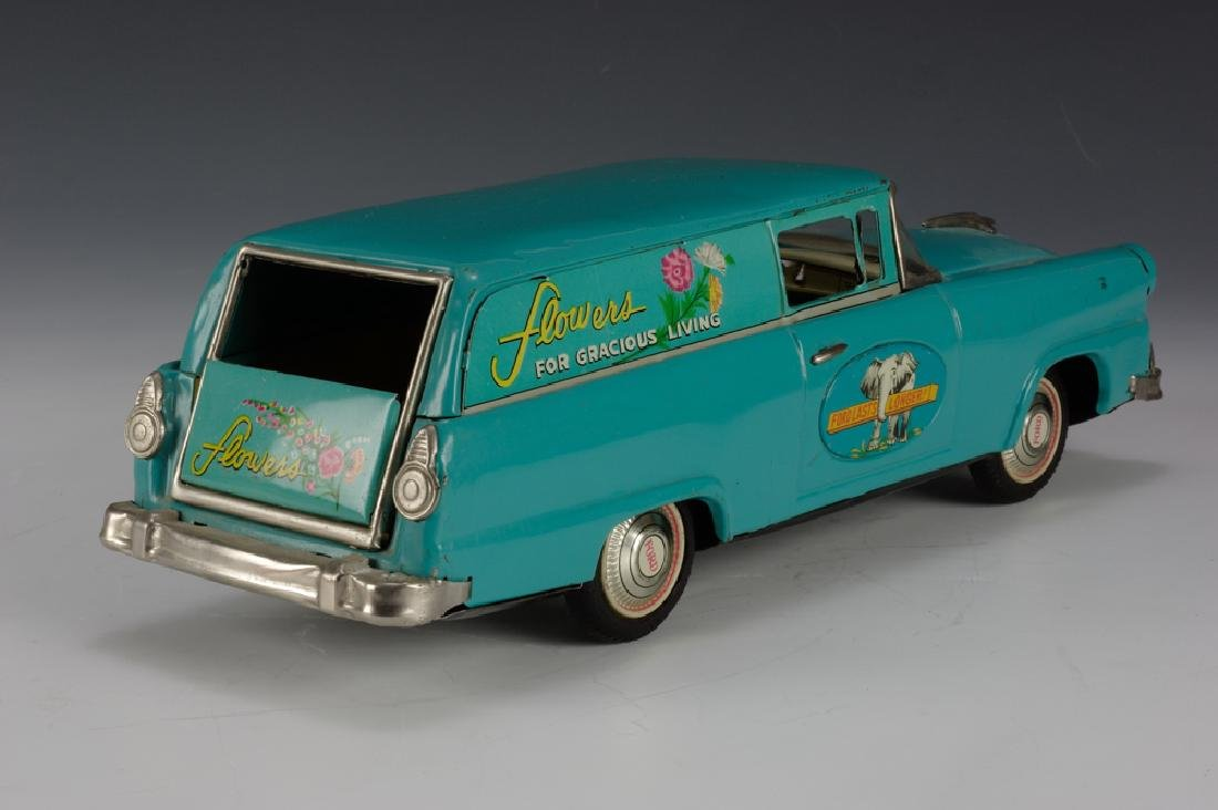 """Flowers"" Ford Sedan Delivery, Bandai Circa 1955 - 4"