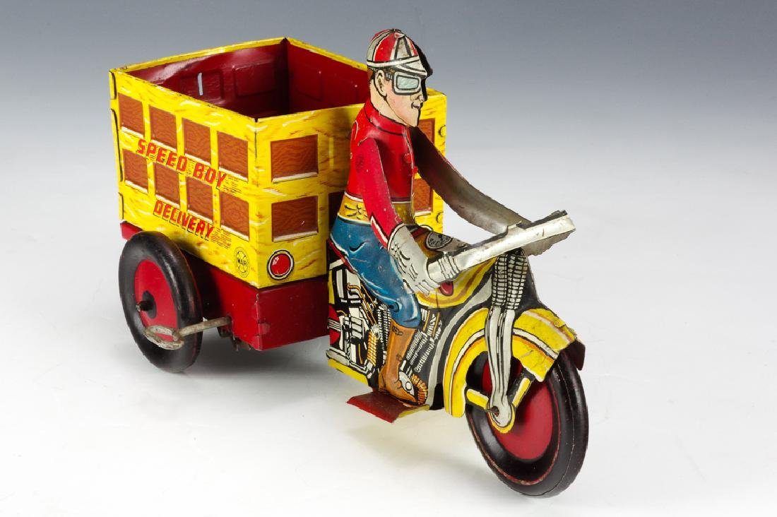 Speed Boy Delivery Motorcycle, Marx
