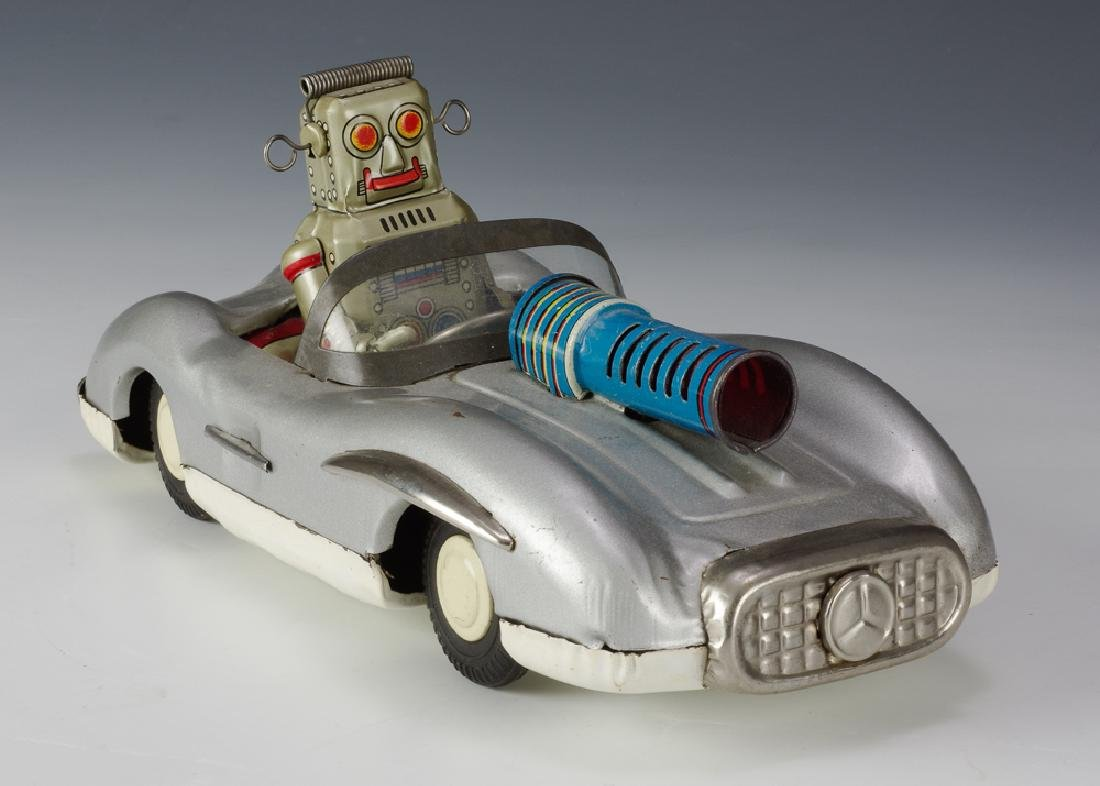 Space Robot Patrol Car by Asahi Toy Co.