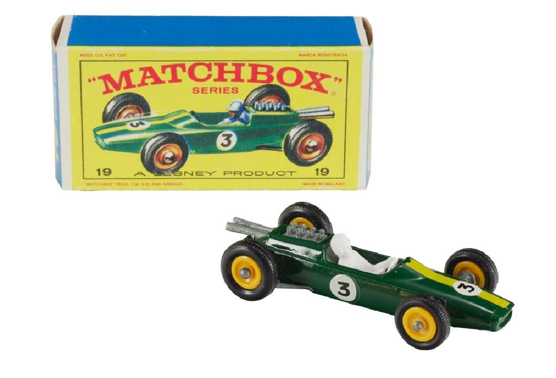Boxed, Matchbox 19 Lotus Racing Car