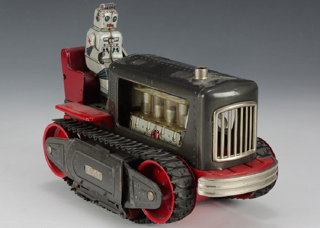 Battery Operated Robot Tractor by Nomura