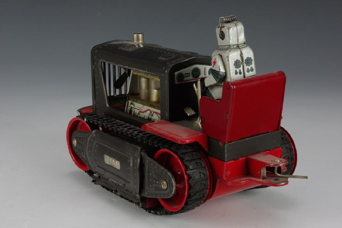 Battery Operated Robot Tractor by Nomura - 3