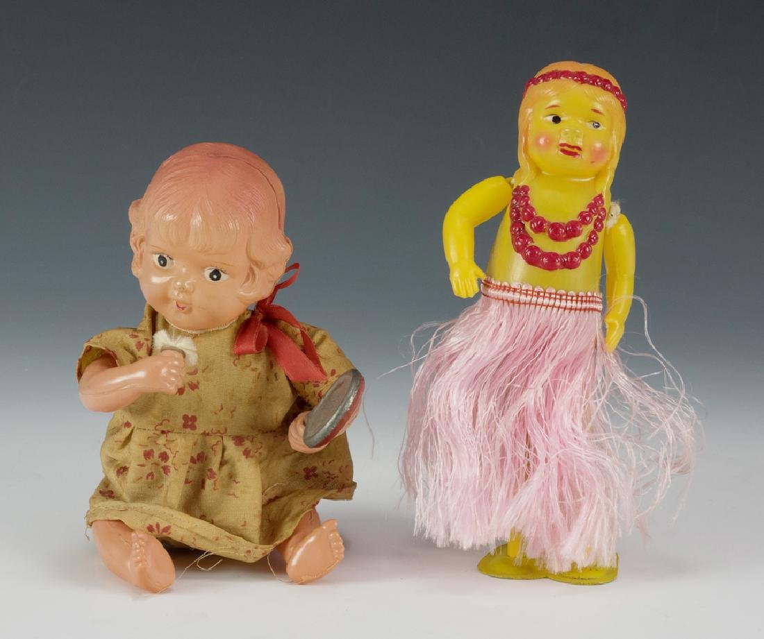Two Japanese Celluloid Windup Toys